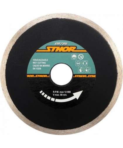 Алмазный круг Sthor 125*22,2 мм 08786