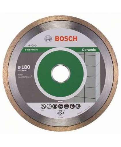 Алмазный круг Bosch 180*25,40 Standard for Ceramic  2.608.602.536