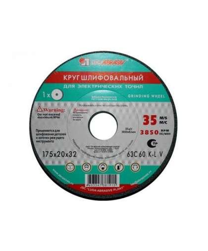 Круг шлифовальный Lugaabrasiv 300*40*127 мм 63C 60P 7 V 35