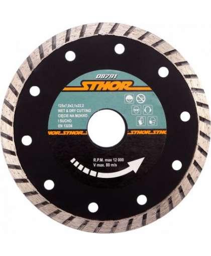 Алмазный круг Sthor 125*22,2 мм турбо 08791