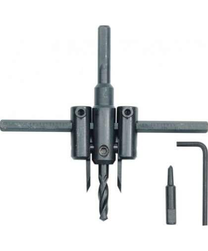 28733Сверло-циркуль для ПВХ 30-120мм