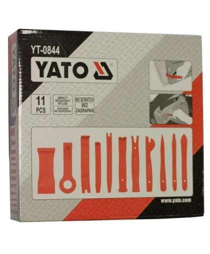 Набор съемников обивки Yato YT-0844 11 предметов