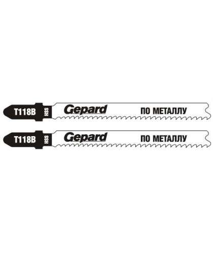 Пилка для лобзика Gepard T118B GP0620-02 2 шт