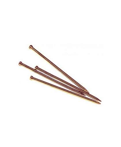 Гвозди финишные 1.2х25 мм бронза (0.2 кг в пласт. конт.) SMP1-55293-02, STARFIX
