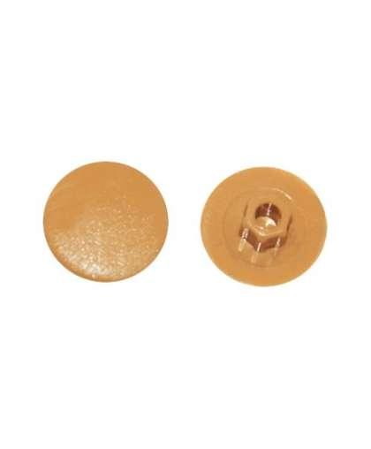 Заглушка для конфирмата, декоративная светло-бежевая (50 шт в зип-локе) SMZ1-02458-50