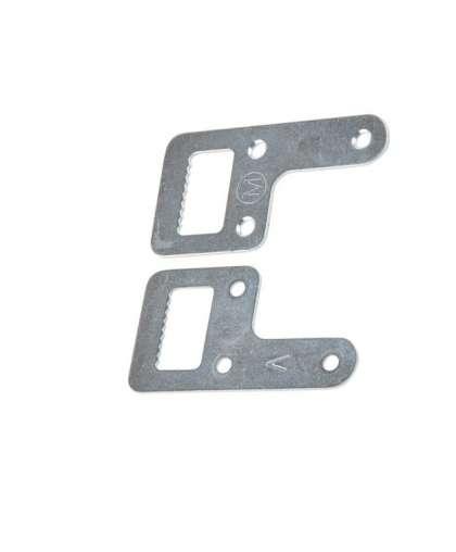 Подвеска мебельная Starfix SMP-71134-1 36*67 мм белый цинк