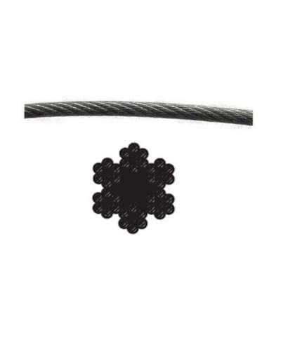 Трос стальной М2.5 Starfix SMP-53695-200 оцинкованный 200 м