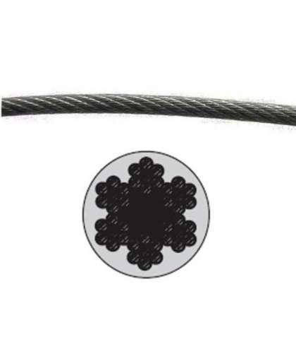 Трос стальной в ПВХ М8(6) Starfix SMP-53748-100 100 м