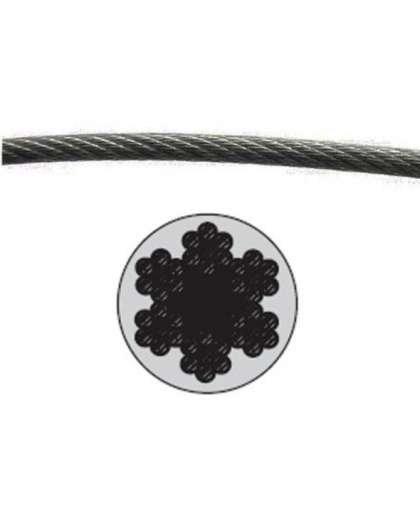 Трос стальной в ПВХ М5(4) DIN 3055 SMP-53725-200