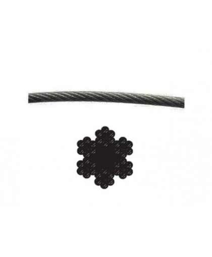 Трос стальной круглопрядный SWR М1 DIN 3055 STARFIX