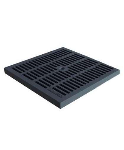 Решетка водоприемная PolyMax Basic черная 3380-Ч, Standartpark