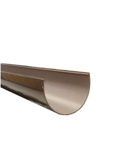 Желоб водосточный шоколад 120 мм, Docke
