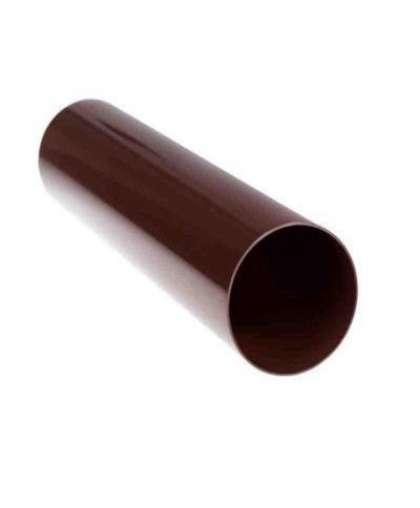 Труба водосточная шоколад 3м, Docke