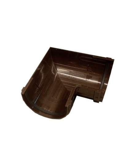 Угловой элемент 90° 120 мм шоколад, Docke