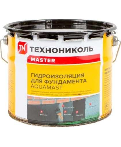 Мастика гидроизоляционная AquaMast битумная холодная 3 кг, Технониколь