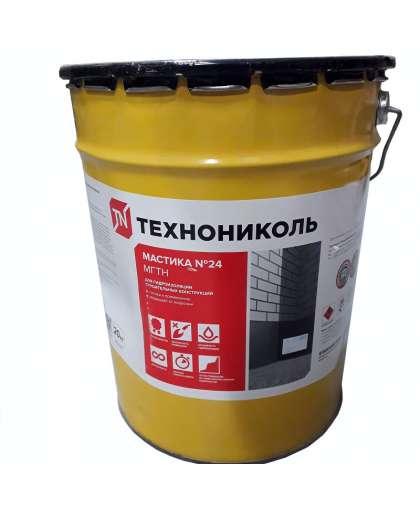 Мастика гидроизоляционная №24 МГТН 20 кг, Технониколь