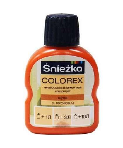 Пигментный концентрат универсальный Sniezka Colorex 20 Персиковый 100 мл
