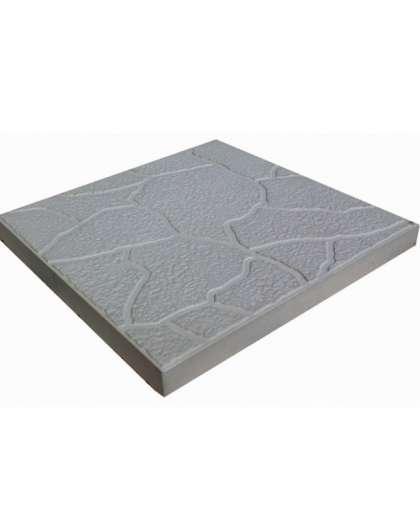 Плитка тротуарная Черепашка 300*300*30 мм серая