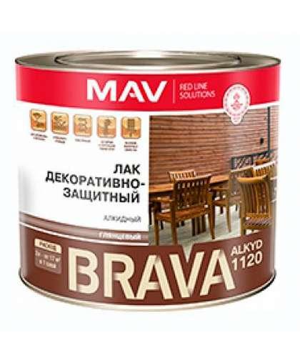Лак MAV Brava Alkyd 1120 2 л