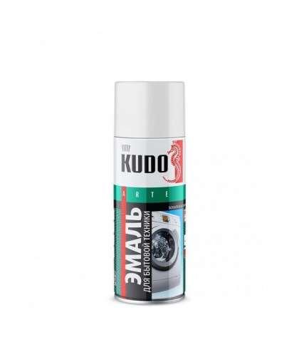 Эмаль KUDO для бытовой техники белая 520 мл KU-1311