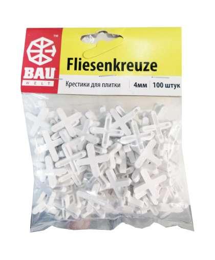 Крестики для плитки Bauwelt 01600-010040 4 мм 100 шт
