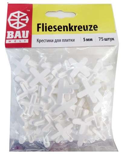 Крестики для плитки Bauwelt 01600-010050 5 мм 75 шт
