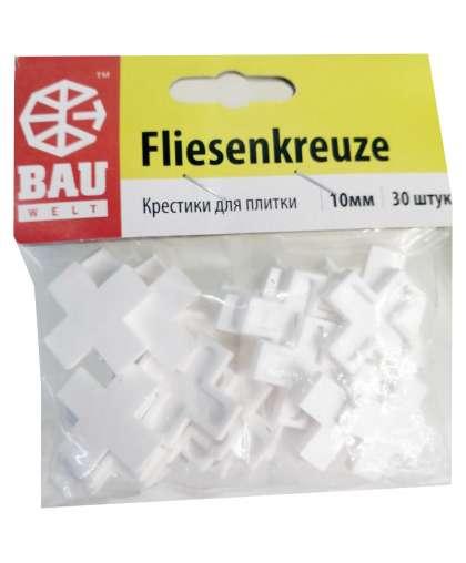 Крестики для плитки Bauwelt 01600-010100 10 мм 30 шт