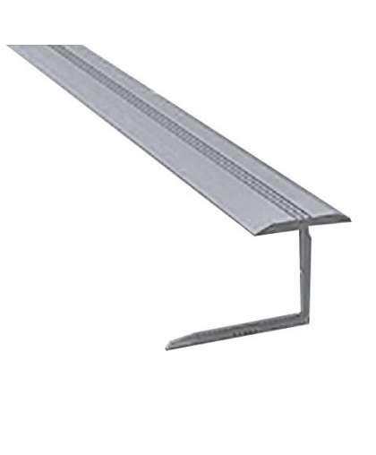 Профиль гибкий РП-АКП-21 10 мм анодированный серебро матовый 2.5 м
