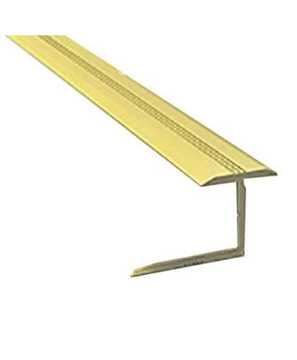 Профиль гибкий РП-АКП-21 10 мм анодированный золото матовый 2.5 м