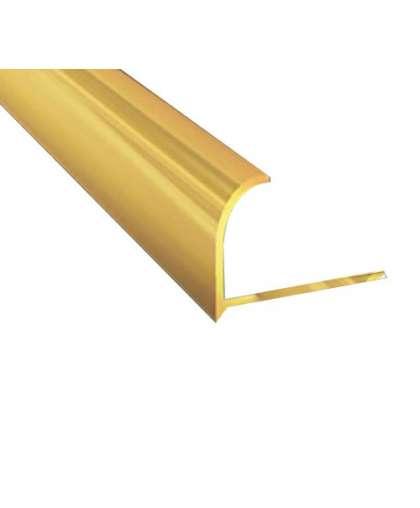 Профиль наружный РП-АКП-11 10 мм анодированный золото матовый 2.7 м