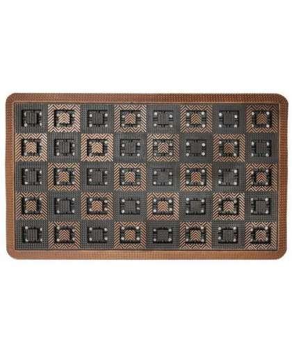 Резиновый коврик Виго 130-003, 45*75см