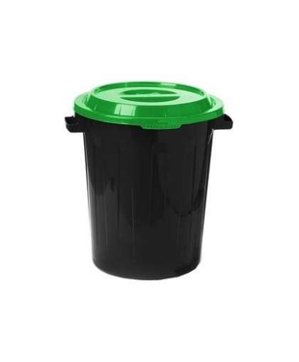 Бак 90 л Idea М 2394 с крышкой ярко-зеленой