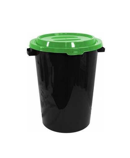 Бак 40 л Idea М 2392 с крышкой ярко-зеленой