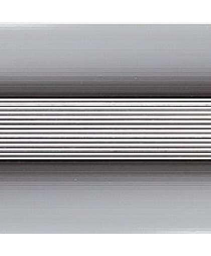 Кант полукруглый Русский профиль анодированый 40мм 1.35 м серебро матовый