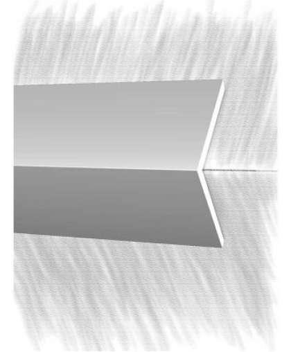 Порог КТМ-2000 1515-01M Серебро 2.7 м