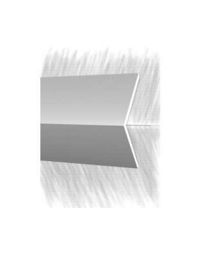 Порог КТМ-2000 2525-01M Серебро 2.7 м