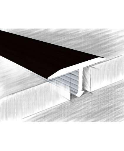 Порог КТМ-2000 318-05М Черный 2.7 м