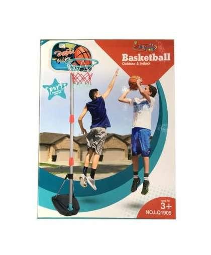 Кольцо на стойке баскетбольное Kingsport LQ1905