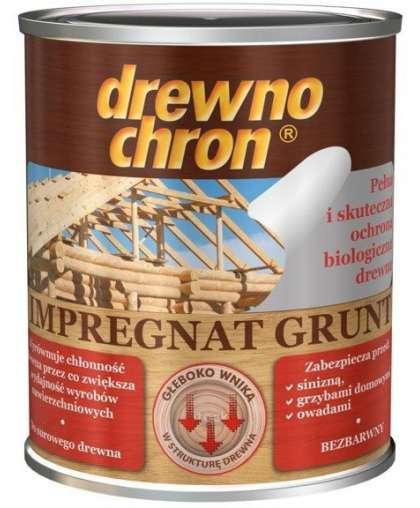 Грунтовка Drewnochron Impregnat Grunt 2.5 л Бесцветный