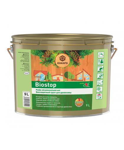 Грунт биозащитный Aura Biostop по дереву 0.9 л