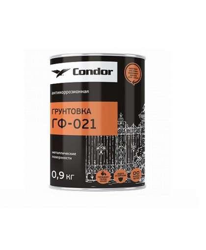 Грунтовка Condor ГФ-021 0.9 кг Серый