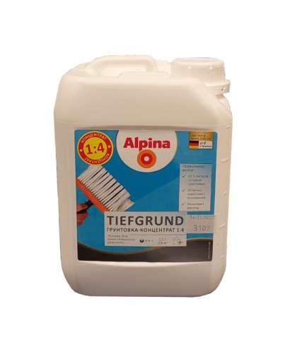 Грунтовка Alpina Tiefgrund концентрат 2.5 л