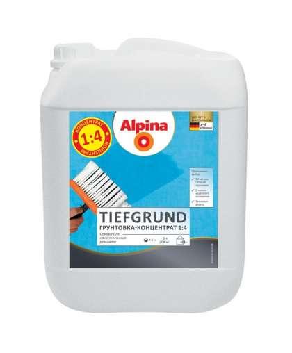 Грунтовка Alpina Tiefgrund концентрат 5 л