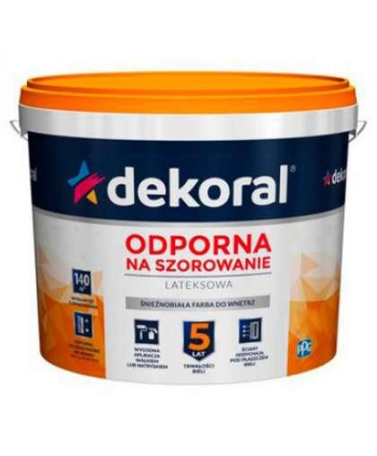 Краска Akrylit 5 л Снежно-белая, Dekoral