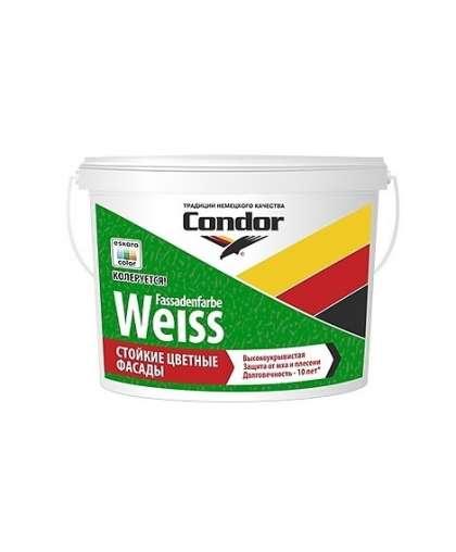 Краска Fassadenfarbe-Weiss фасадная Белая 14.4 кг Condor