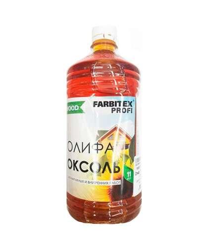 Олифа Оксоль Farbitex Профи Good For Wood марки ПВ 1.0 л