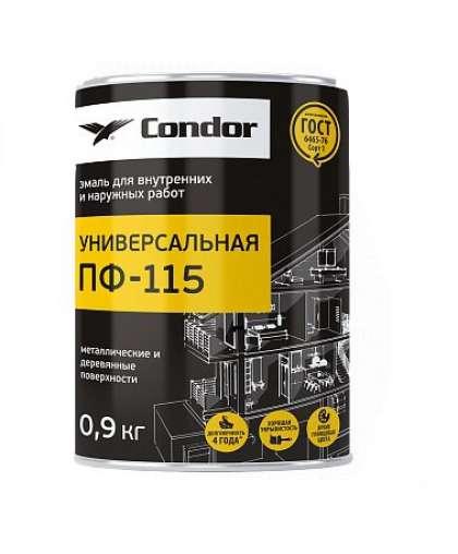 Эмаль Condor ПФ-115 0.9 кг бирюзовая