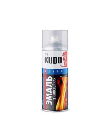 Эмаль термостойкая Kudo KU-5003 520 мл белая
