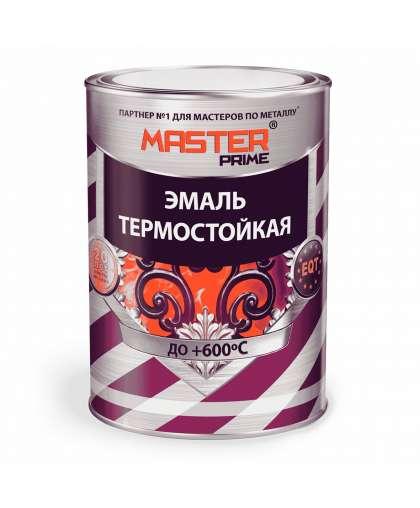 Эмаль термостойкая Master Prime черный 0.4 кг