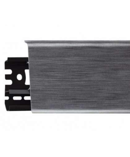 Плинтус напольный Arbiton Indo 17 Алюминий 2500*26*70 мм